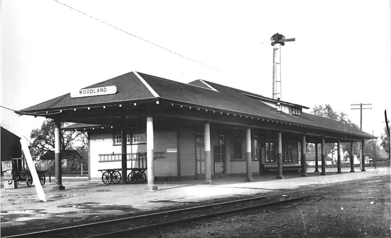 Svhr Woodland Southern Pacific Depot